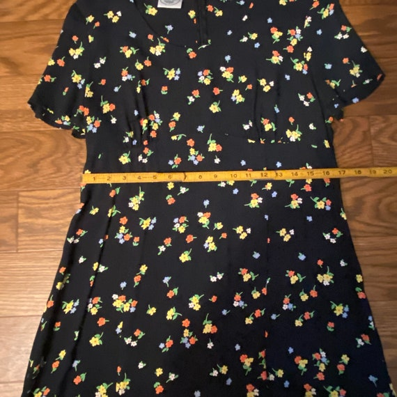 Vintage Laura Ashley Floral Short Dress, Medium, … - image 7