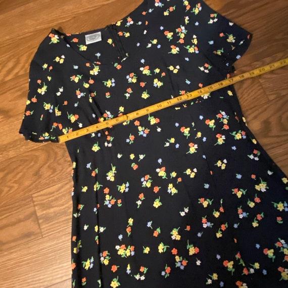 Vintage Laura Ashley Floral Short Dress, Medium, … - image 8