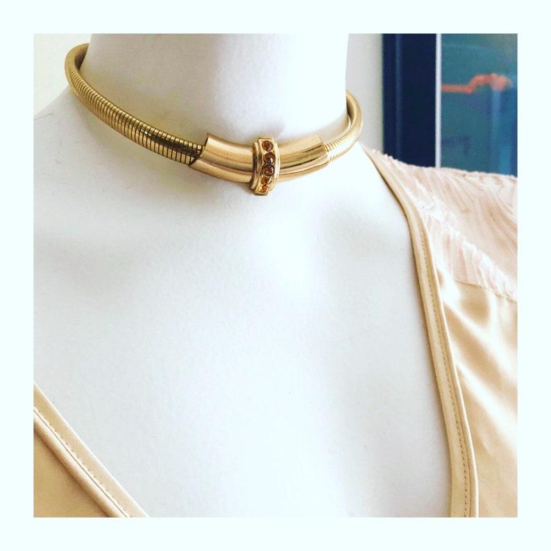 andare online Buoni prezzi immagini dettagliate Girocollo vintage Coro, Coro collana, girocollo Vintage oro, placcato oro