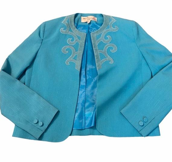 Adolph Schuman for Lilli Ann Skirt & Blazer Suit … - image 3