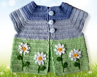 Crochet Tutorial Sweater Vest
