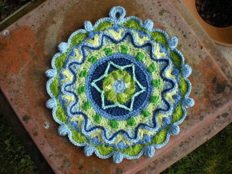 potholder crochet pattern