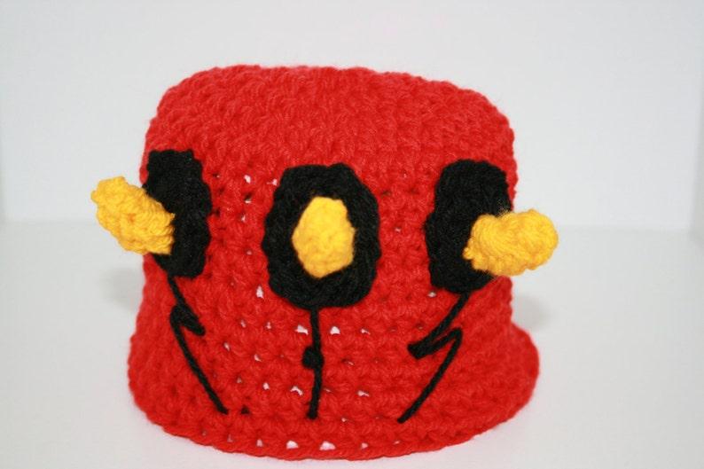 Great for Halloween. On Sale Star wars /'inspired/' hat Alien Horns Darth Maul /'Inspired/' Crochet Beanie Hat