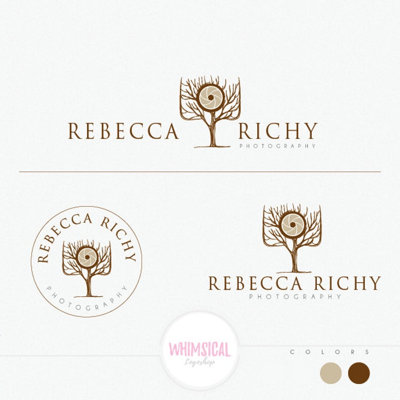 Professional Camera Tree  cute flower Logo  natural image 0