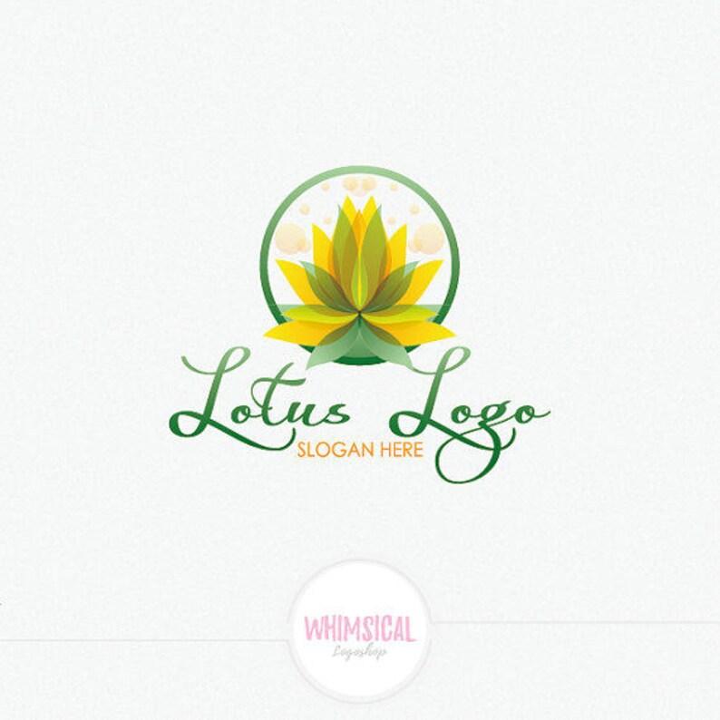 Tree Pose in Lotus Flower Logo  strong colors Logo  peacful image 0
