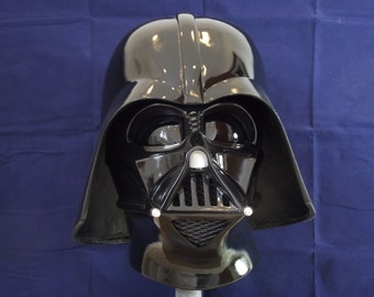 Star Wars Darth Vader Helmet ESB All Black 1:1 Full Size(stormtrooper armour move prop)