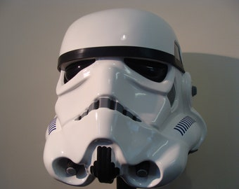 Star Wars Stormtrooper Hero style Helmet 1:1 Full Size Plastic construction version