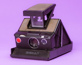 "Polaroid SX-70 Land Camera ""Model 3"""
