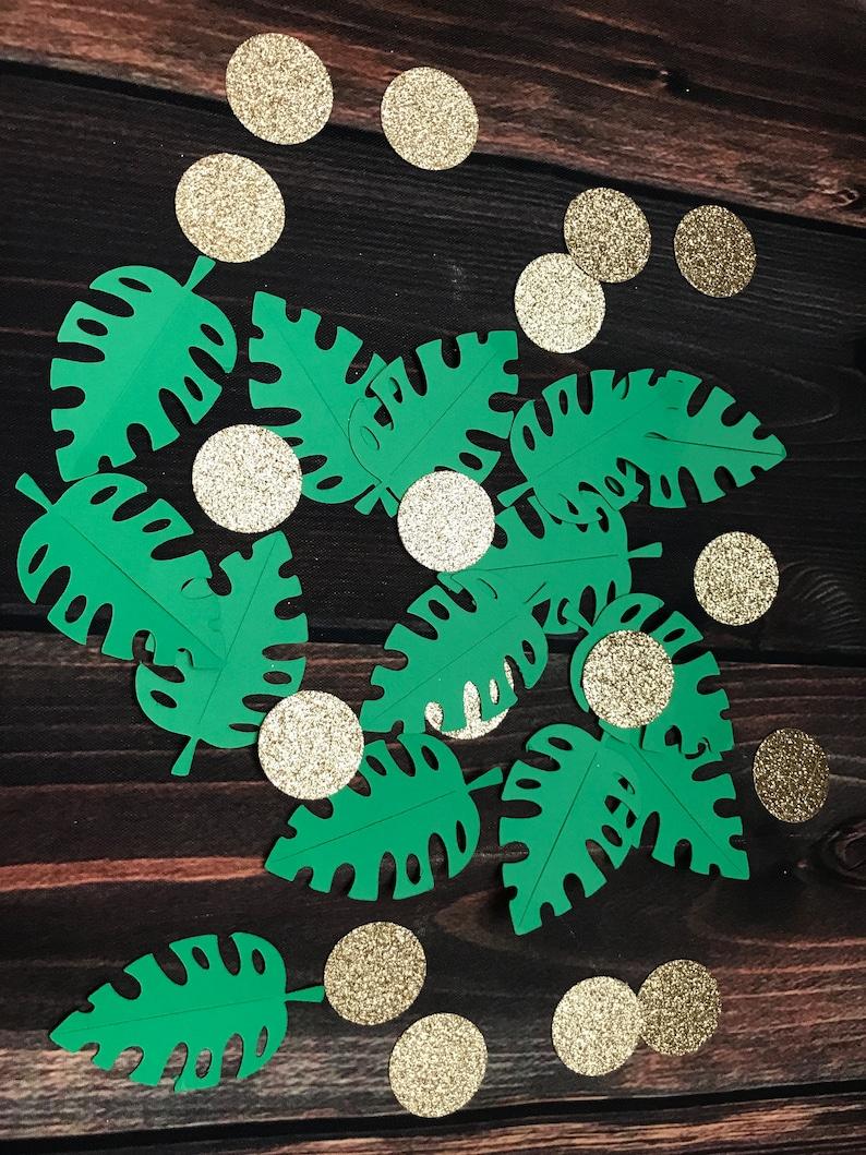 leaves confetti