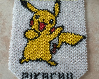 Tapestry pika seed beads