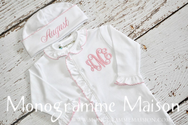 Baby Girl Coming Home Outfit  Newborn Baby Girl Outfit  image 0