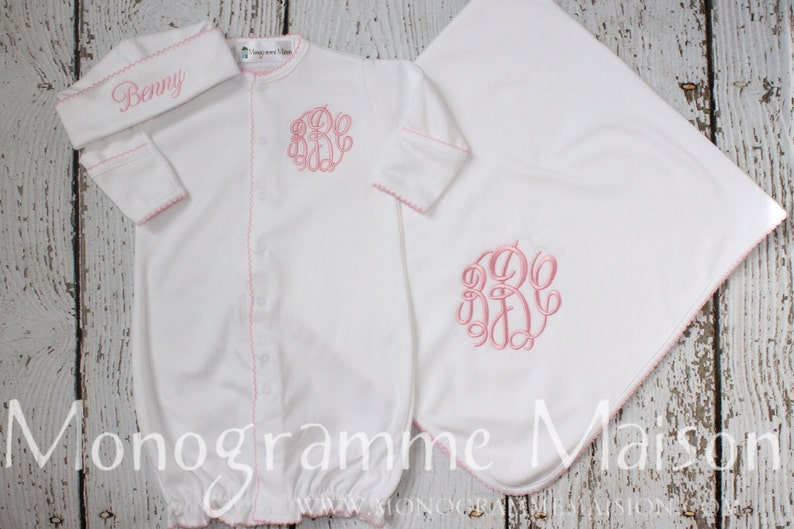Baby Girl Coming Home Outfit  Newborn Girl Take Home Outfit  image 0