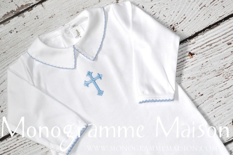 Baby Boy Christening Outfit  Baptism Outfit  Dedication image 0