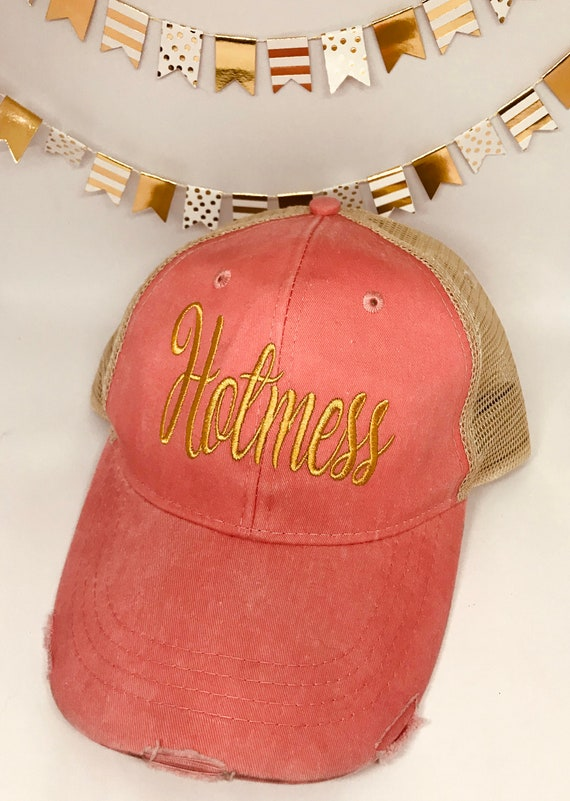 9531eb1d69e Hot Mess Express Trucker Hat for beach bachelorette party mom