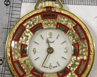 Used Ferel pocket watch pendant - works