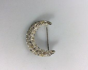 Vintage Silvertone Crescent Moon Star Sun Stick Pin Celestial Astronomical Pin Vintage Lapel Pin. Vintage Stick Pin
