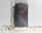 Vintage 1988 Zippo Lighter Untested Hinge Loose Used