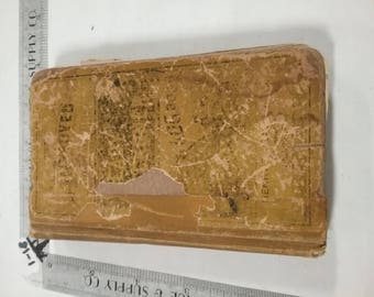 Vintage used  Ready Reckoner form and log book 1881