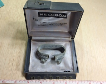 Old Helbros Watch Case Used Abused