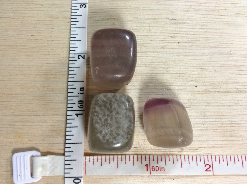 One Flourite Tumbled Stone Picture For Reference Only Our Pick Used