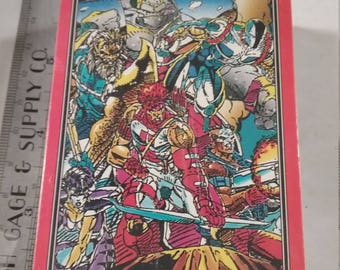 Vintage  Youngblood comic trading card lot