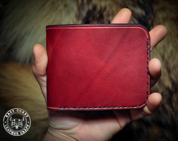 Mens Leather Wallet - Classic Wallet - Leather Billfold - Card Wallet - Genuine Leather Wallet