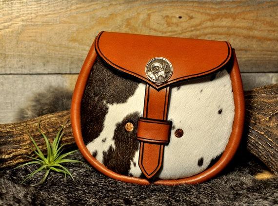 Sporran, Leather Belt Pouch, Kilt Bag, Viking Pouch, Casual Sporran, Leather Belt Bag, Larp, Renaissance, Scottish Bag