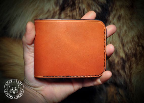 Classic Leather Wallet - Wickett and Craig Chesnut English Bridle