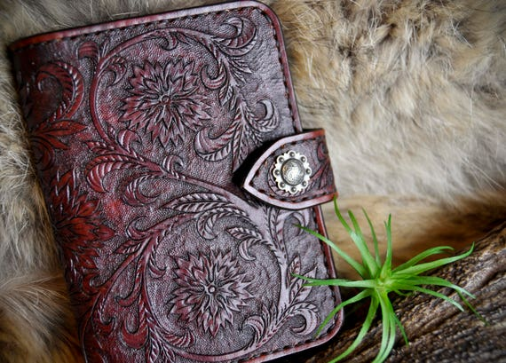 Leather Passport and Fieldnotes Cover - Travel Wallet