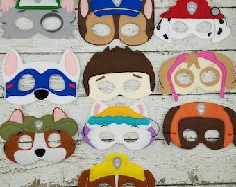 Rescue Pup Masks