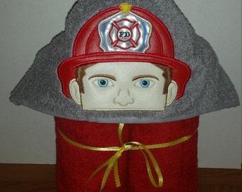 Fireman Hooded Towels