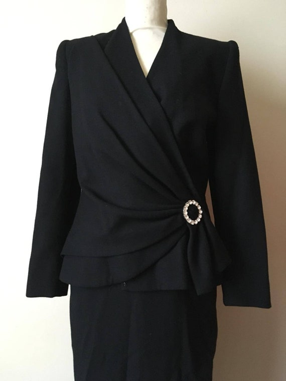Early 1980s Vintage Lilli Ann skirt suit