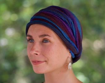 USA Bright Earths Tribal Cover All Head wrap -Turban Wrap - Chemo Hair Scarf USA orders ship from USA