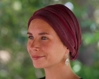 GERMANY Rustic Earths Cover All Head wrap -Turban Wrap - Chemo Hair Scarf in stock in Germany