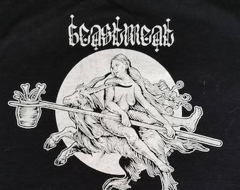 Sabbath Occult Witch Black Metal Shirt