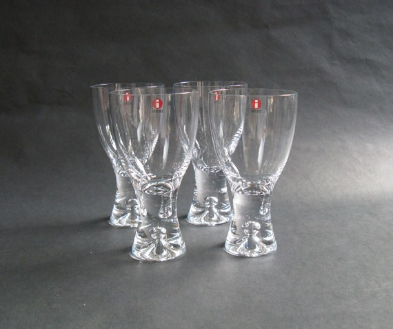NIB TAPIO WIRKKALA IITTALA  Ultima Thule White Wine Glasses 2 pcs