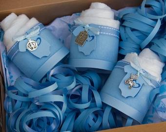 It's a Boy - Baby Shower Gift - Diaper Cake - Mini Diaper Cakes - Baby Boy Baby Shower Gift - Gift Box