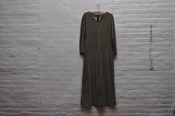 Vintage Daisy Print Jumpsuit