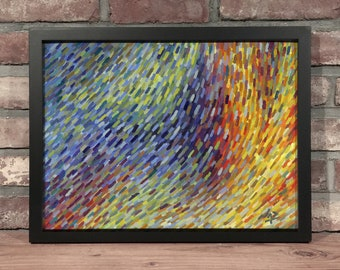 Art Print // ABSTRACT COLOR WASH - Oil Painting