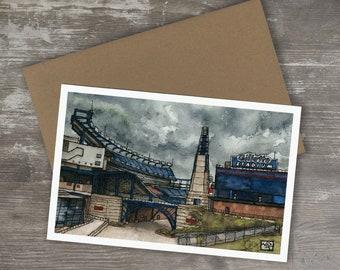 Greeting Card // GILLETTE STADIUM - New England Patriots
