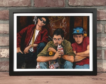 Art Print // BEASTIE BOYS // Oil Painting