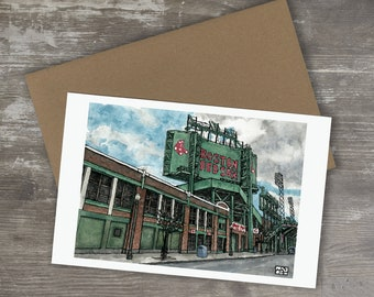 Greeting Card // FENWAY PARK - Boston Red Sox