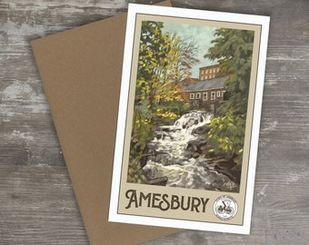 Greeting Card // AMESBURY, MASSACHUSETTS