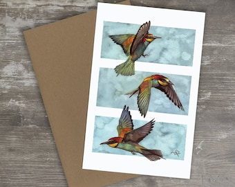 Greeting Card // THREE BIRDS