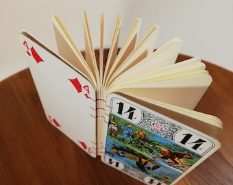 Notebook Choose your card Tarot Card vintage Playing Cards