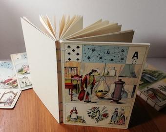 Notebook Divinatory Tarot Letter Alphabet Constellation Coptic Binding Vintage