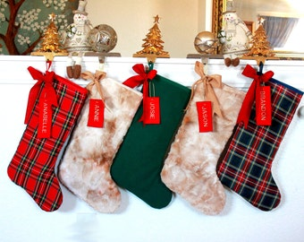 28c6287c1fc 5 Family Christmas Stockings