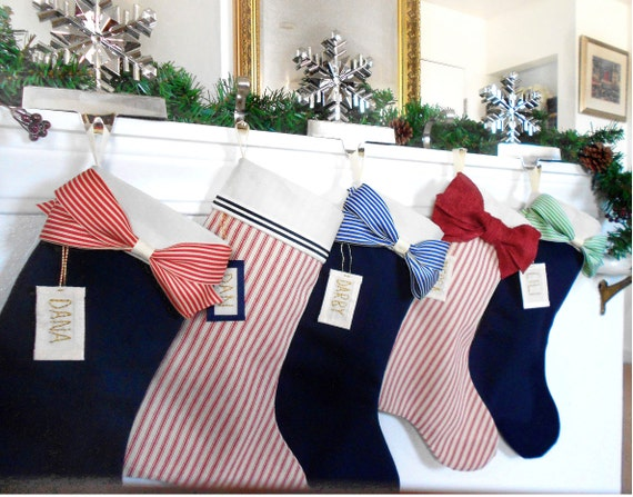 image 0 - Coastal Christmas Stockings
