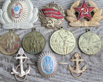 cfbbd6fd73f4b set of 10 military parts of cockades