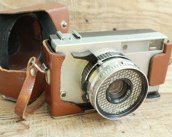 "vintage camera rare camera / collectible camera / retro camera / Old Vintage Soviet  Camera "" Zorkiy - 10 ""  with lens Industar - 63"